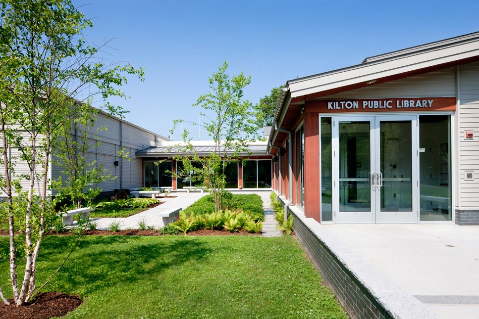 Kilton Public Library in Lebanon, New Hampshire
