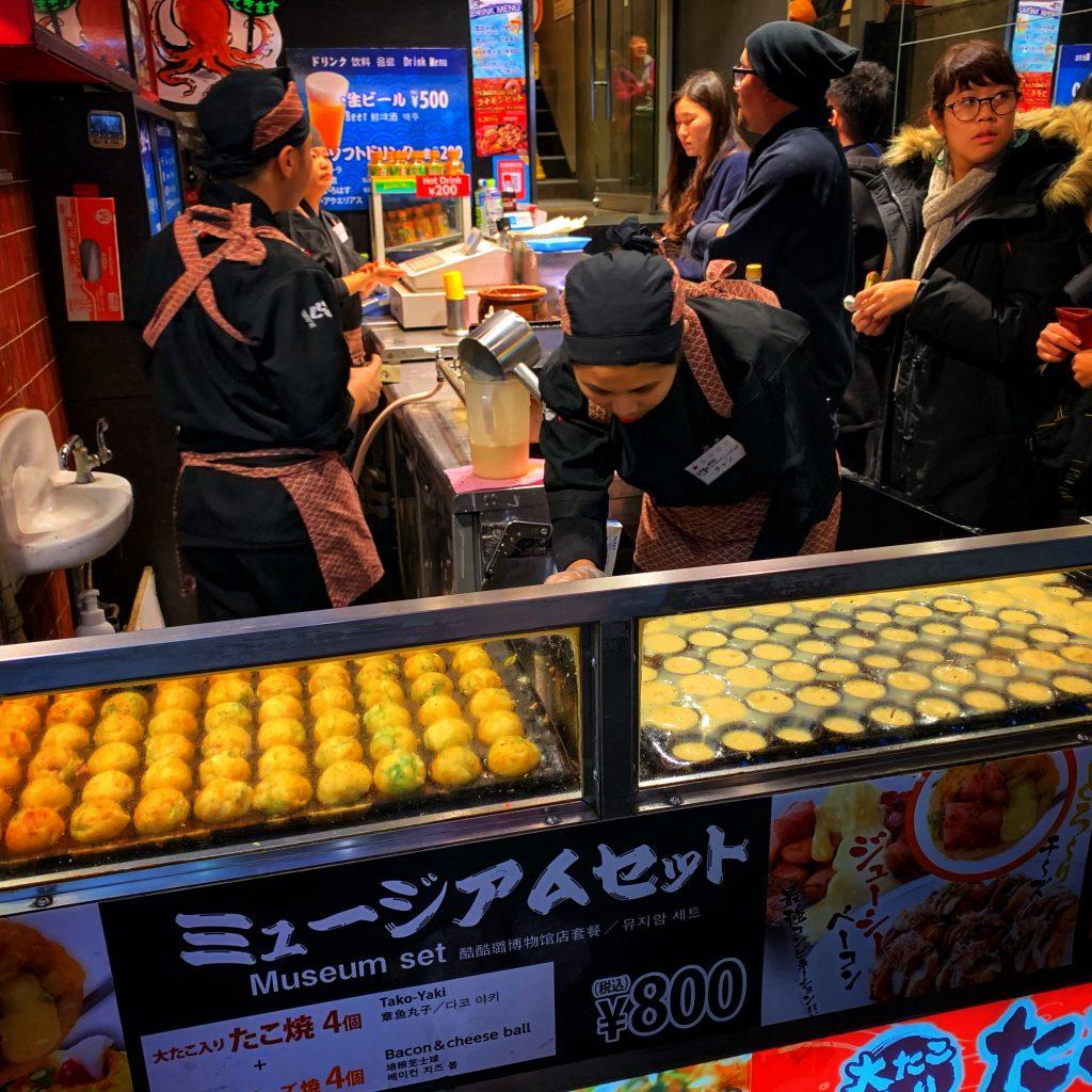 Cooking Takoyaki