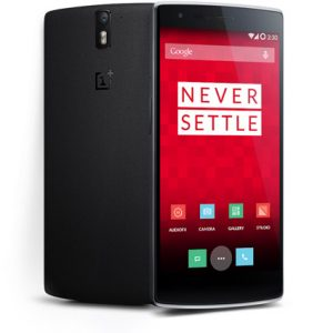 OnePlus One front and back