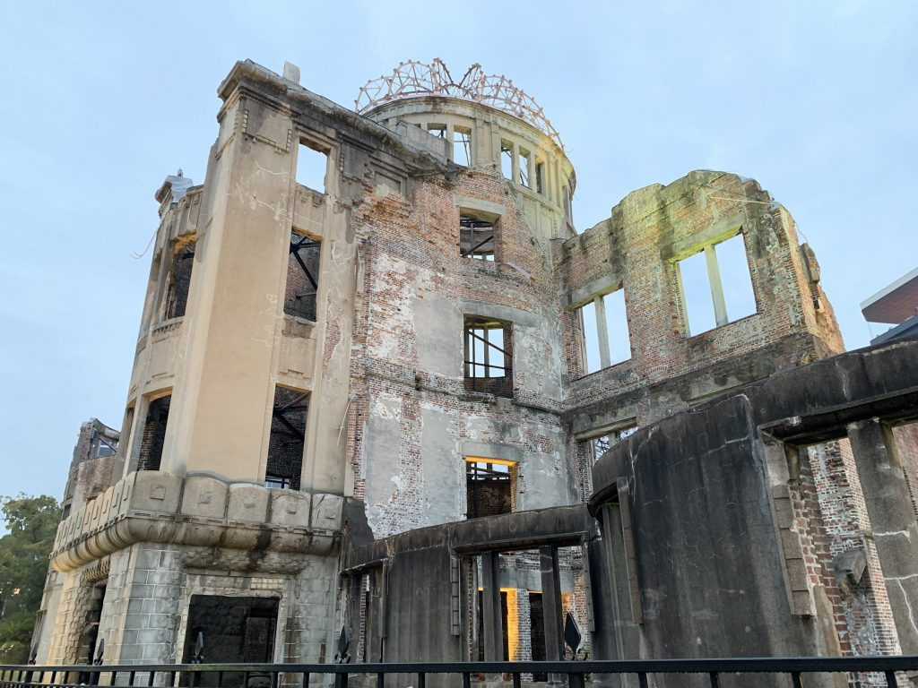 The Atomic Bomb Dome up close
