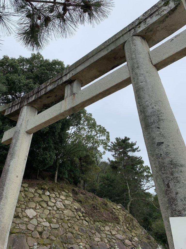 Gate leading to Itsukushima Shrine